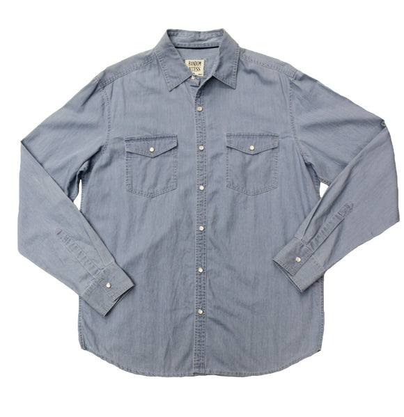Vintage Denim Button-down - Super Massive Shop