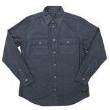 Asphalt Rustic Canvas Button-down