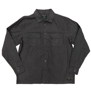Sleek Canvas Buttondown