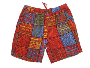Mombasa Print Set Shorts - Super Massive Shop