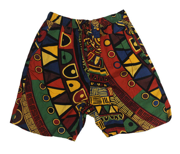 Mbira Print Set Shorts - Super Massive Shop