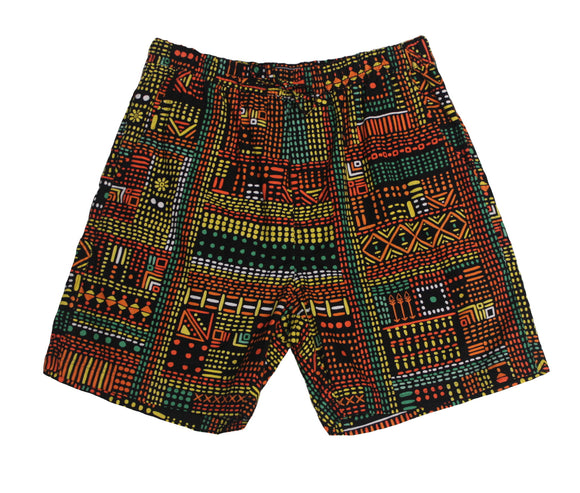 Terrace Print Shorts - Super Massive Shop