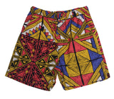 Fractal Print Set Shorts - Super Massive Shop