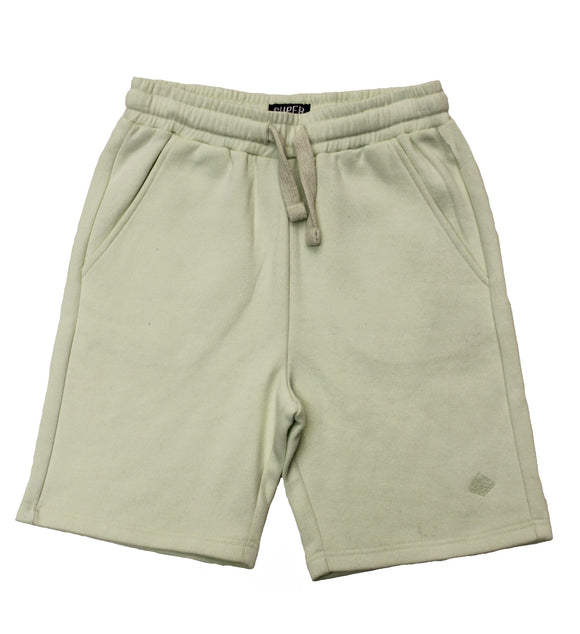 Solid Fleece Shorts Mint