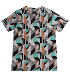 Realignment SS Print Tee - Super Massive Shop