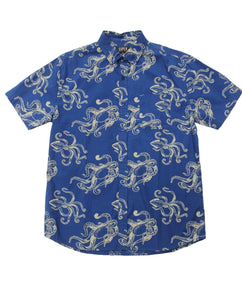Deep Sea SS Button-down - Super Massive Shop