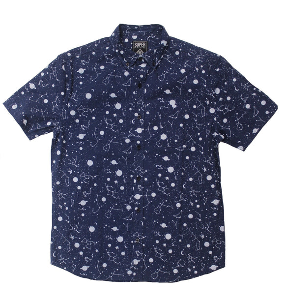 Night Sky SS Button-down - Super Massive Shop