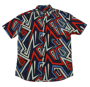 Inner Fractal SS Button-down - Super Massive Shop