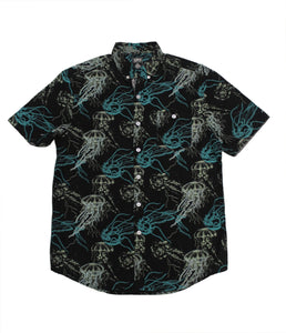 Night Jelly SS Button-down - Super Massive Shop