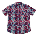 Tie-dye SS Button-down - Super Massive Shop