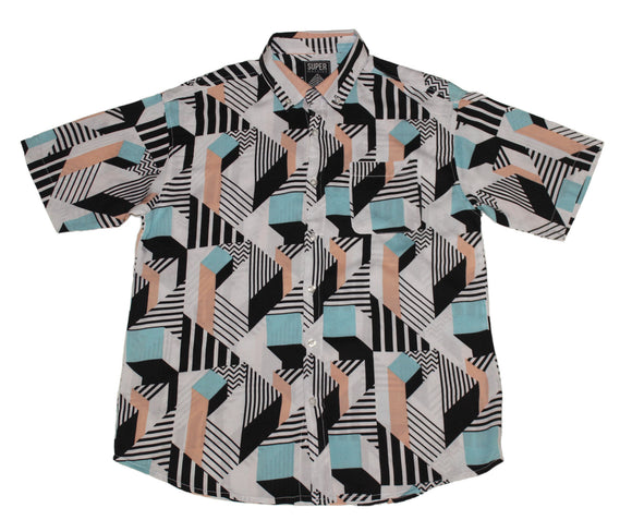 Realignment SS Button-down - Super Massive Shop
