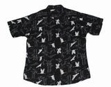 Ancient Crane SS Button-down - Super Massive Shop