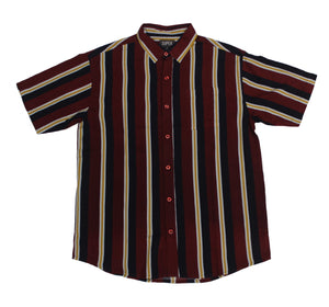 Ruby Red SS Button-down - Super Massive Shop