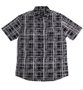 Kryptic SS Button-down - Super Massive Shop