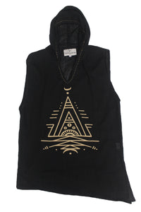 Organic Pyramid Hoodie - Super Massive Shop