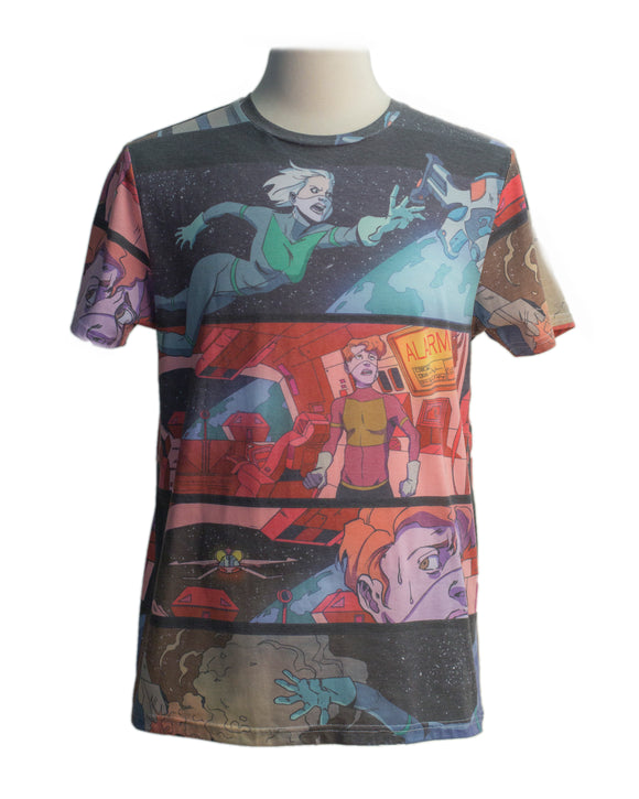 Comic SS Print Tee - Super Massive Shop