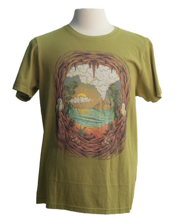 Organic Island Tee - Super Massive Shop