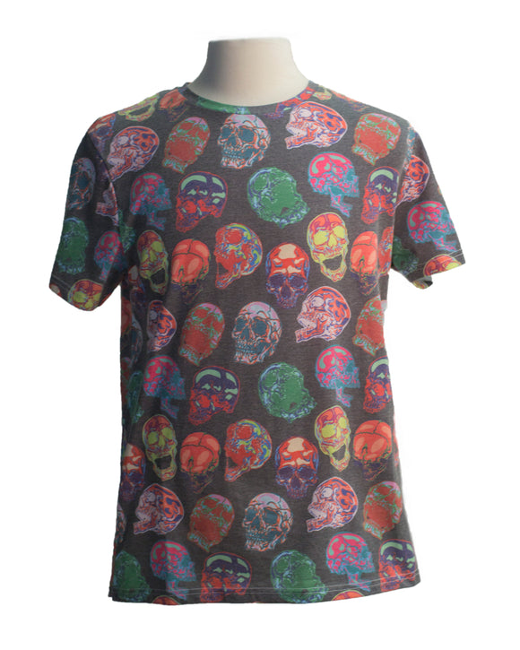 Acid Skull SS Print Tee - Super Massive Shop