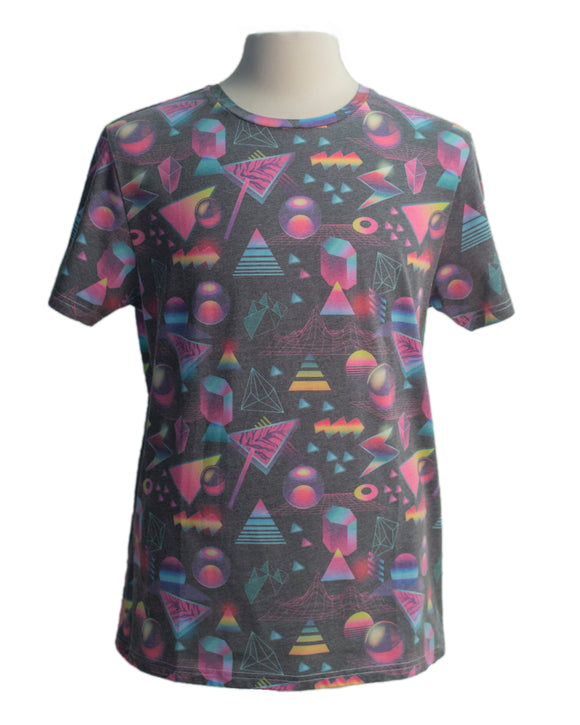 Space Out SS Print Tee