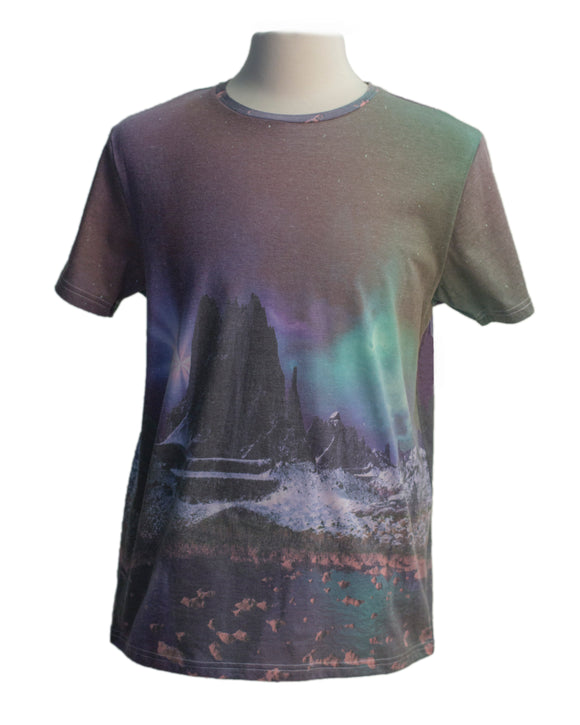 Northern Lights SS Print Tee - Super Massive Shop