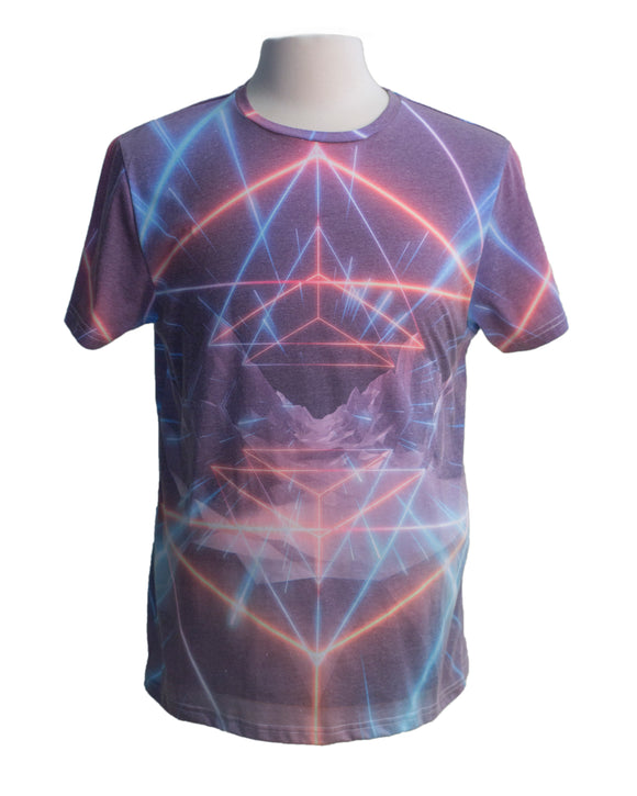 Matrix SS Print Tee - Super Massive Shop