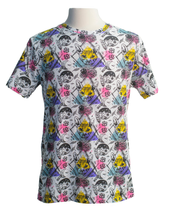Hallucination SS Print Tee - Super Massive Shop