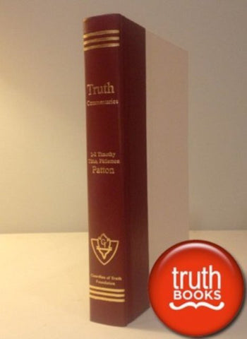 1 & 2 Timothy, Titus, Philemon [Guardian of Truth] - [Hardcover] by Marshall Patton