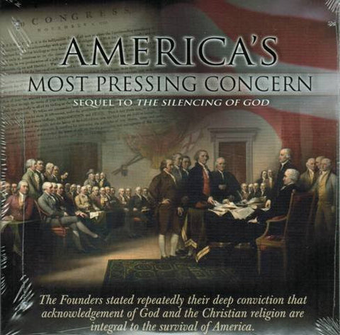Americas Most Pressing Concern - Sequel to: The Silencing of God [DVD] Hosted by Dave Miller Ph.D.