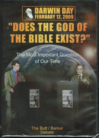 Does the God of the Bible Exist? [DVD] by Butt/Barker