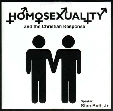 HOMOSEXUALITY and the Christian Response [DVD] Hosted by Stan Butt