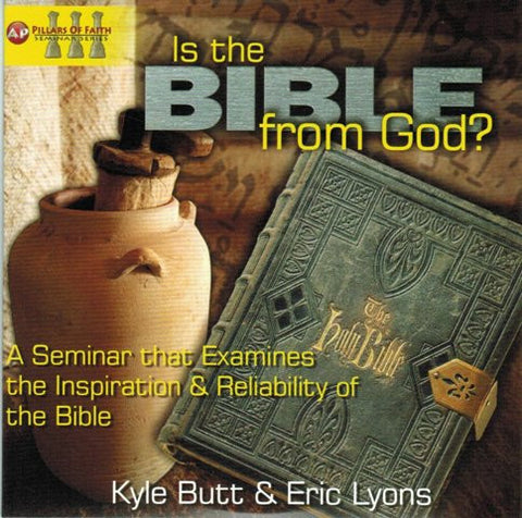 Is the Bible from God? [DVD] Hosted by Kyle Butt & Eric Lyons