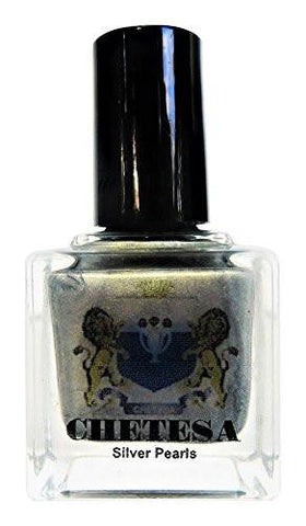 "Gems Collector Nail Lacquer ""Silver Pearls"", 0.50 oz."