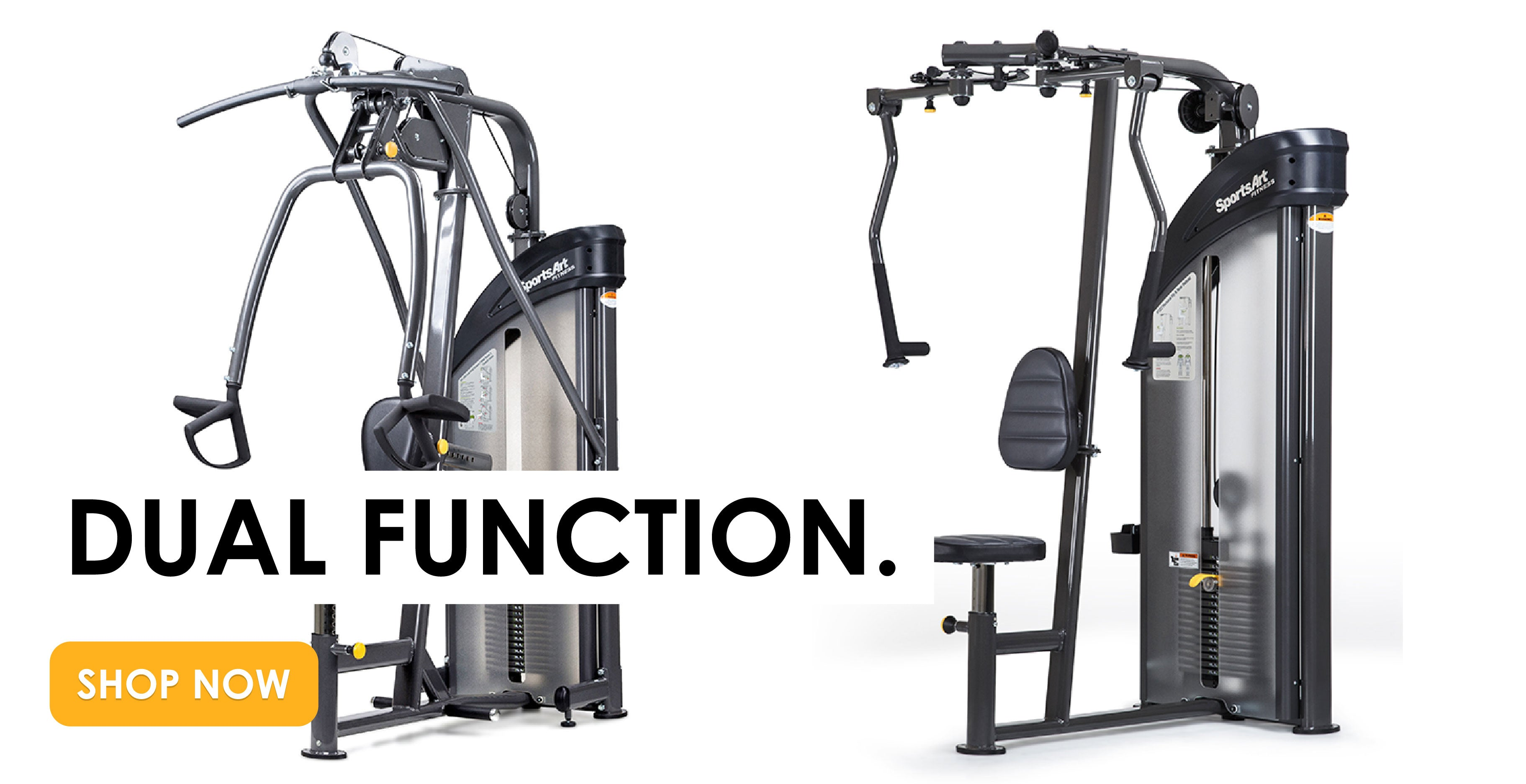 Dual Function Gym Equipment