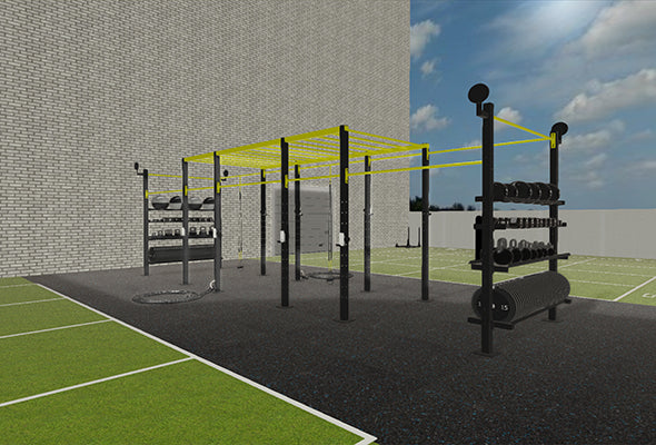 £D Render Outdoor Training Facility