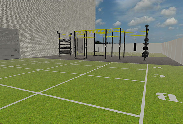 Gym Outside Functional Equipment