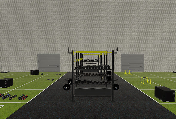 Cross Training Layout Outdoor Gym