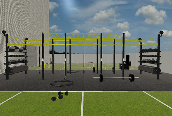 Outdoor Gym with Rig