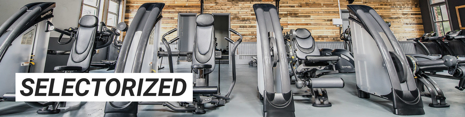 selectorized strength exercise equipment