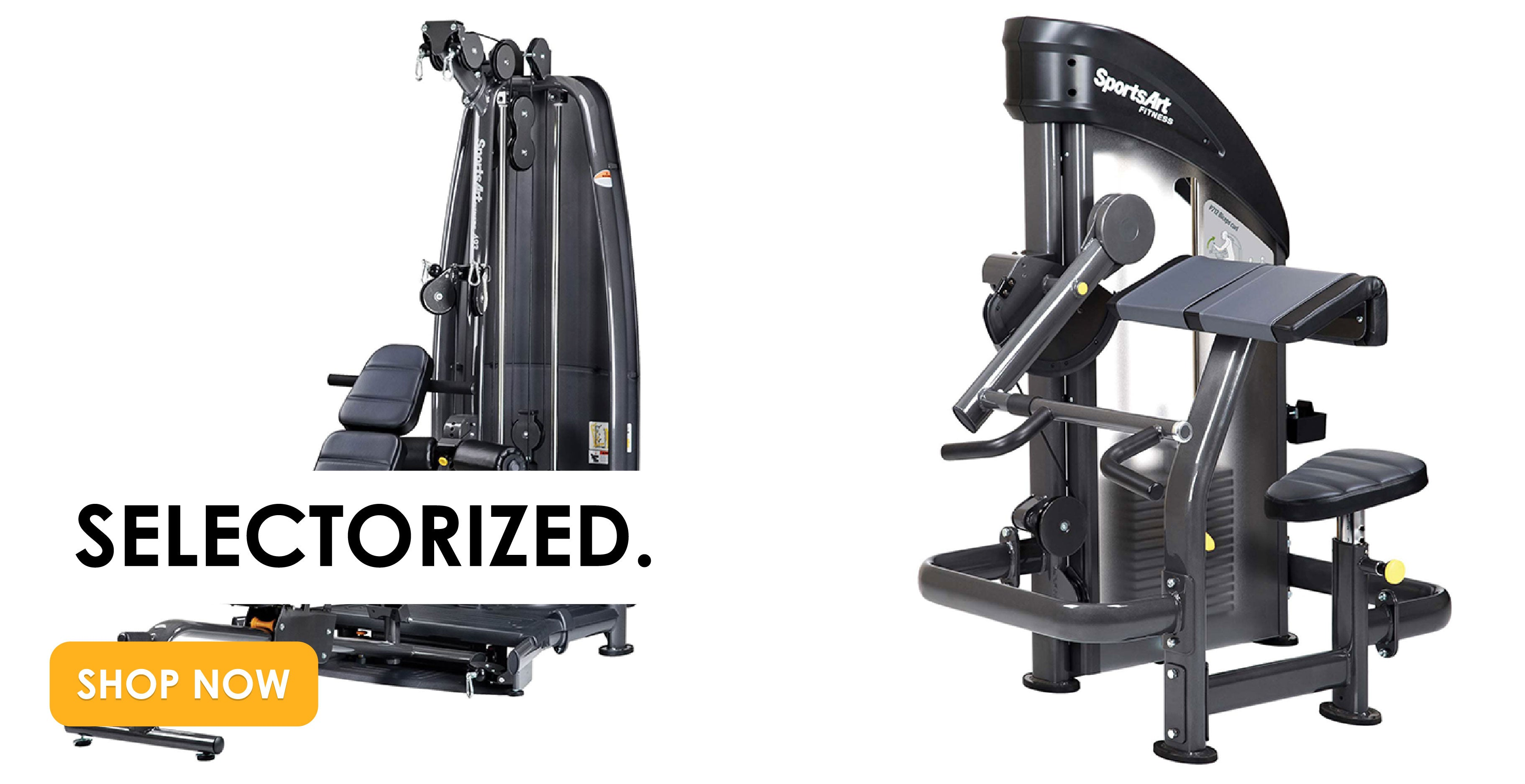 Selectorized Gym Equipment