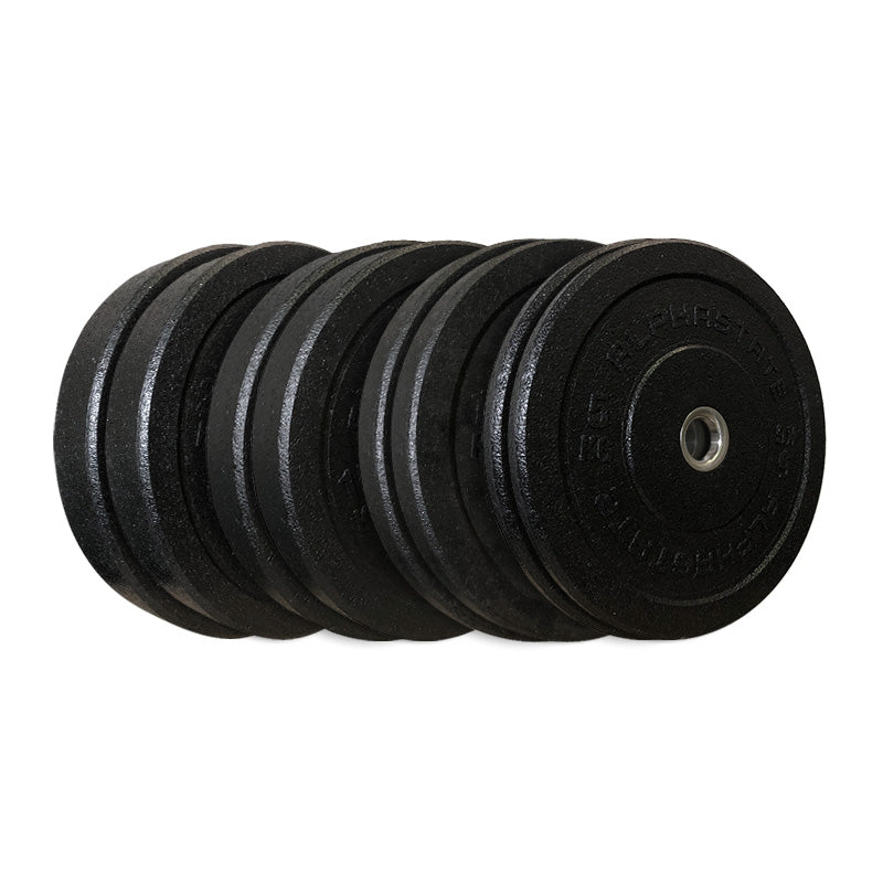AlphaState Hi-Temp Bumper Plate Set - Gym Concepts