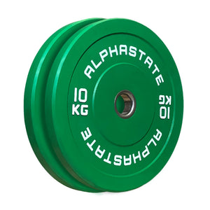 AlphaState Colour Bumper Plates - Gym Concepts
