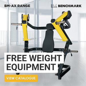 BenchMark Free Weight Equipment - AX - Gym Concepts