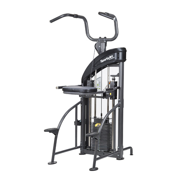 Commercial Gym Equipment Assisted Chinup/Tricep Dip