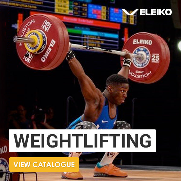 Eleiko IWF Weightlifting Competition Set-up