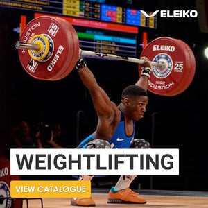 Eleiko IWF Weightlifting Competition Set-up - Gym Concepts