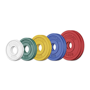 GYMWAY Competition Fractional Plate Set - Gym Concepts