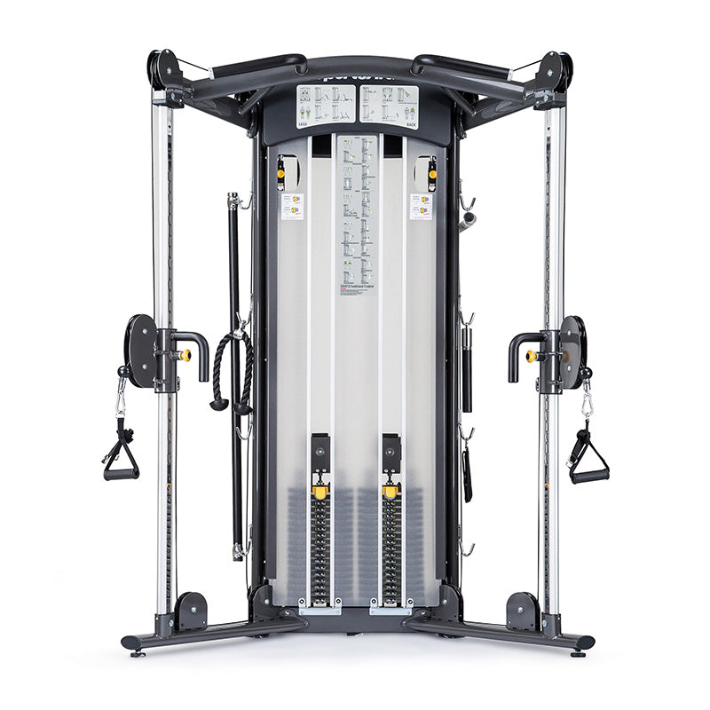 DS972 - Functional Trainer-Dual Adjustable Pulley - Gym Concepts