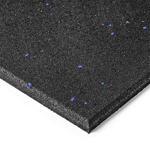 AlphaState High Density Blue Fleck Flooring Rubber (15mm) - Gym Concepts