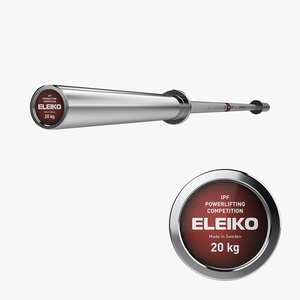 Eleiko IPF Powerlifting Competition Bar 20kg - Gym Concepts