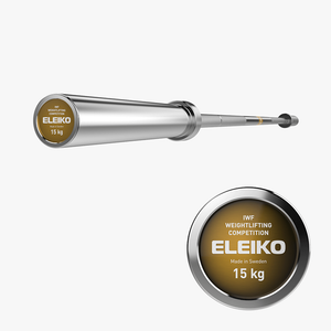Eleiko IWF Weightlifting Competition Bar 15kg - Gym Concepts